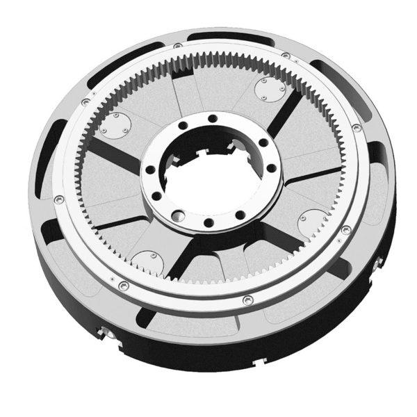 Патрон токарный четырехкулачковый с независимым перемещением кулачков и зубчатым венцом 7103-0011В