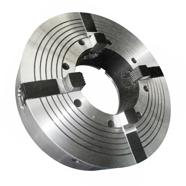 Патроны токарные механизированные четырехкулачковые для обработки труб