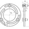 Схема приспособления для расточки мягких кулачков